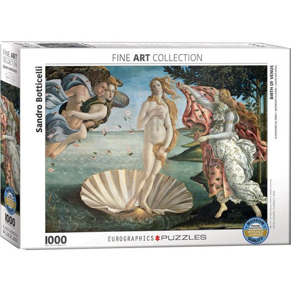 Eurographics 1000 db-os puzzle - Birth of Venus - 6000-5001