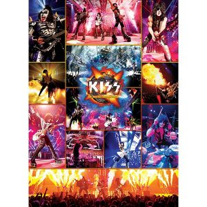 Eurographics 1000 db-os puzzle - KISS The Hottest Show on Earth - 6000-5306