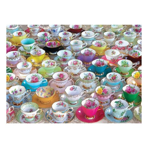 Eurographics 1000 db-os Puzzle - Tea Cups - 6000-5314