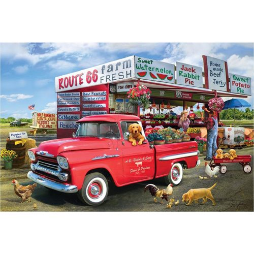 EuroGraphics 1000 db-os Puzzle - 1959 Chevrolet Apache-Giordano - 6000-5337