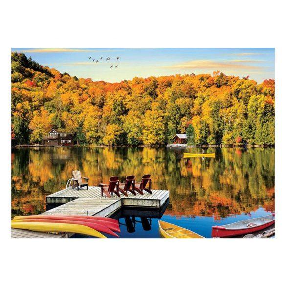Eurographics 1000 db-os Puzzle - Lakeside Cottage Quebec - 6000-5427