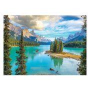 Eurographics 1000 db-os Puzzle - Maligne Lake Alberta - 6000-5430