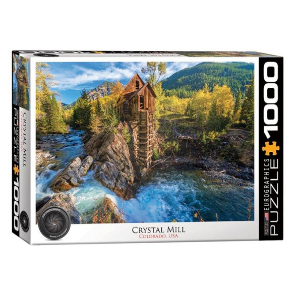 Eurographics 1000 db-os Puzzle - Crystal Mill - 6000-5473