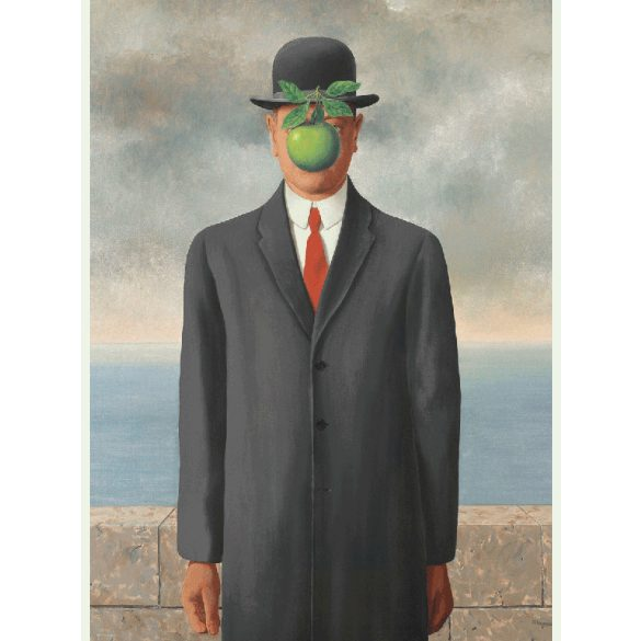 EuroGraphics 1000 db-os Puzzle - René Magritte - Son of Man - 6000-5478