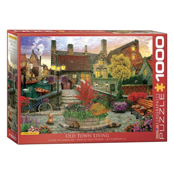 EuroGraphics 1000 db-os Puzzle - Old Town Living - 6000-5531