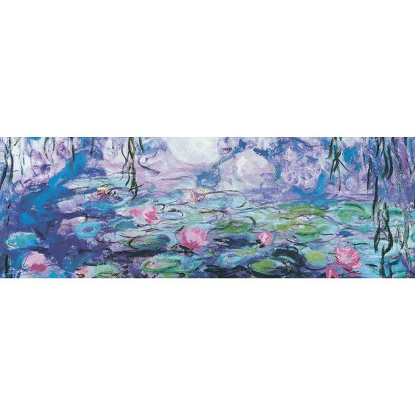 Eurographics 1000 db-os panoráma puzzle - Claude Monet: Waterlillies - 6010-4366