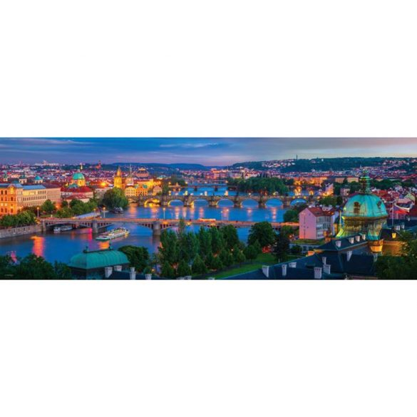 Eurographics 1000 db-os Puzzle - Prague Czech Republic - 6010-5372