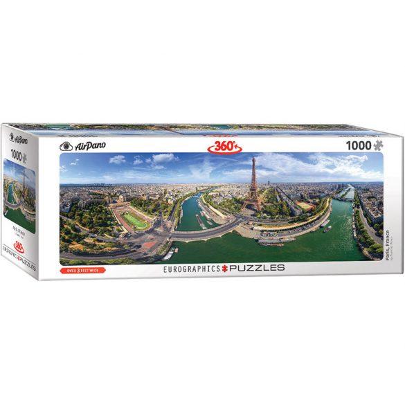 Eurographics 1000 db-os panoráma puzzle - Paris, France - 6010-5373