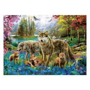 Eurographics 500 db-os puzzle - XXL Pieces - Wolf Lake Fantasy - 6500-5360