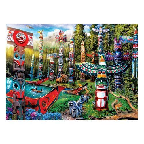 Eurographics 500 db-os puzzle - XXL Pieces - Totem Dreams - 6500-5361