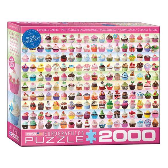 Eurographics 2000 db-os puzzle - Cupcake Schatz - 8220-0629
