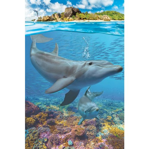 Eurographics 250 db-os puzzle - Save the Planet - Dolphins 8251-5560