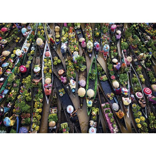 Gibsons 500 db-os puzzle - Floating Market 3601