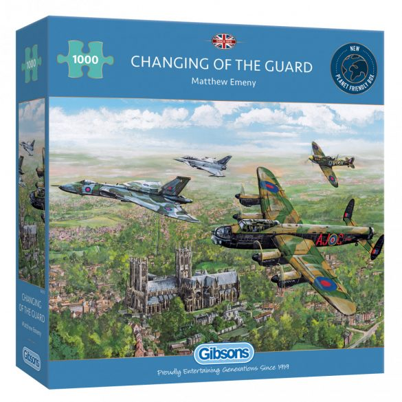 Gibsons 1000 db-os puzzle - Changing of the Guard 6315