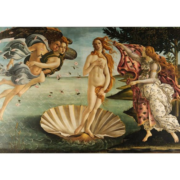 Grafika 1000 db-os puzzle - The birth of Venus 00153