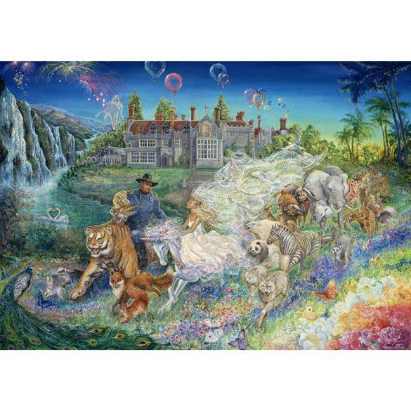 Grafika 1500 db-os puzzle - Josephine Wall: Fantasy Wedding 00264T