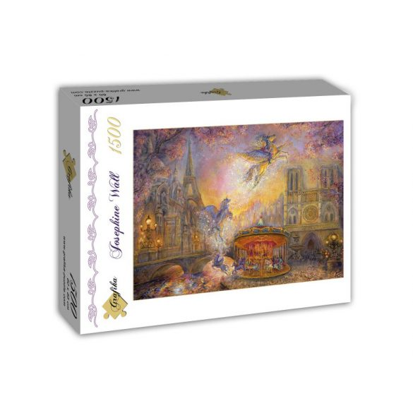 Grafika 1500 db-os puzzle - Josephine Wall: Magical Merry Go Round 00278T