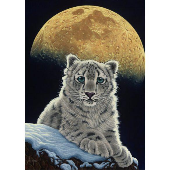 Grafika 1000 db-os puzzle - Schim Schimmel: Moon Leopard 00412T