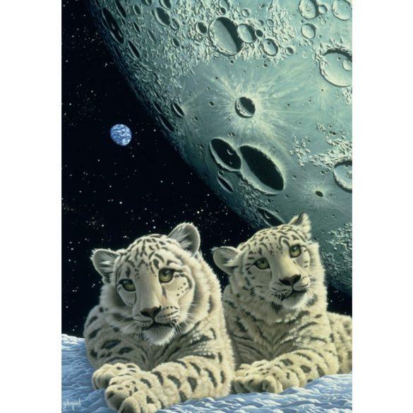 Grafika 1500 db-os puzzle - Schim Schimmel: Lair of the Snow Leopard 00421T