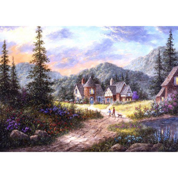 Grafika 1000 db-os puzzle - Dennis Lewan: Hills Of Bavaria 00500T