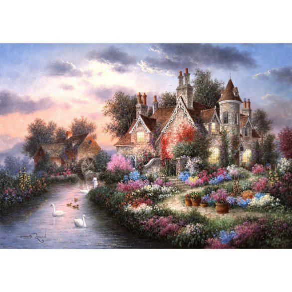 Grafika 2000 db-os puzzle - Dennis Lewan: Mill Creek Manor 00506T