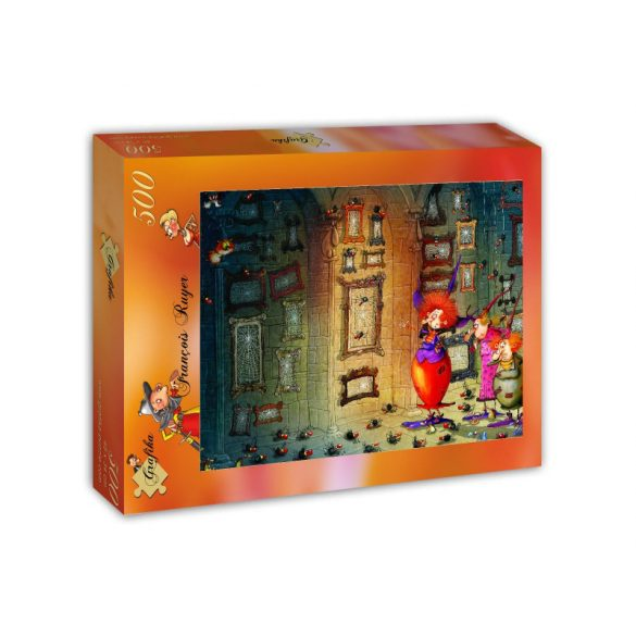 Grafika 500 db-os puzzle - François Ruyer - Welcome! 00580T