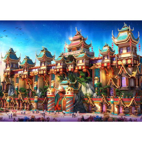 Grafika 500 db-os puzzle - Fairyland China 00676T