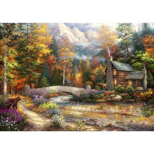 Grafika 1500 db-os puzzle - Chuck Pinson: Call of the Wild 00703T