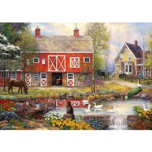 Grafika 2000 db-os puzzle - Chuck Pinson: Reflections On Country Living 00759T