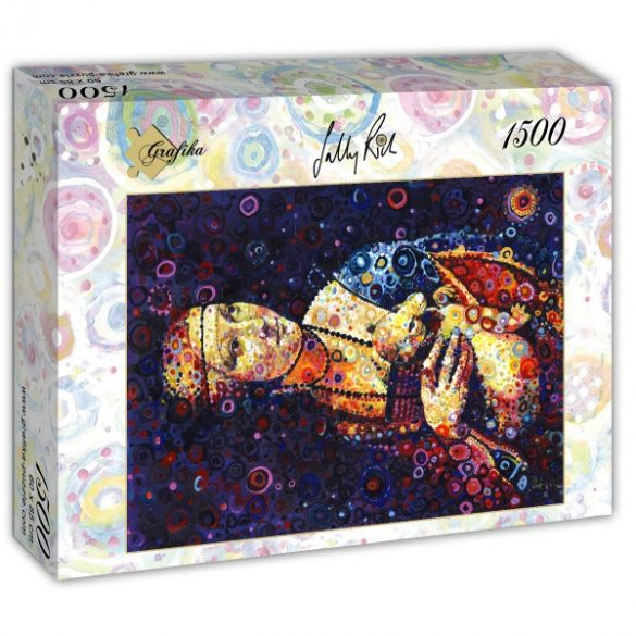 Grafika 1500 db-os puzzle - Leonardo da Vinci: Lady with an Ermine, by Sally Rich 00888T