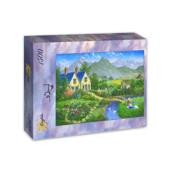 Grafika 1500 db-os puzzle - Having a Nice Day 00955T