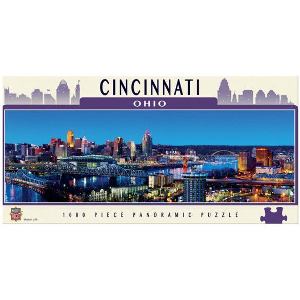 Master Pieces 1000 db-os panoráma puzzle - Cincinnati, Ohio 71587
