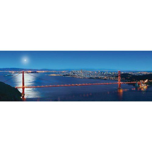 Master Pieces 1000 db-os panoráma puzzle - San Francisco, California 71595