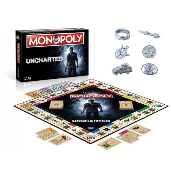 Monopoly Uncharted - angol nyelvű