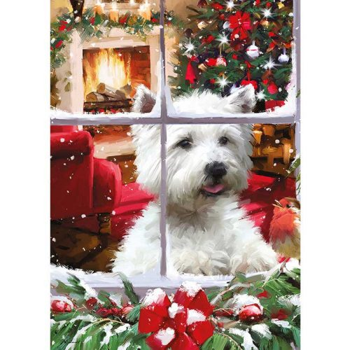 Otter House Puzzle 1000 db-os puzzle - Waiting for Santa 75803