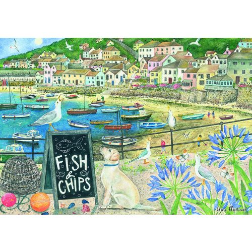 Otter House Puzzle 1000 db-os puzzle - Fish'N'Chips 75821