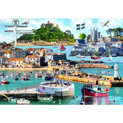 Otter House Puzzle 1000 db-os puzzle - Cornwall Montage 75827