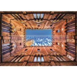 Puzzle 1000 db-os - Siena Városháza - Piatnik