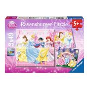 Ravensburger 3 x 49 db-os puzzle - Hercegnők álma 09277