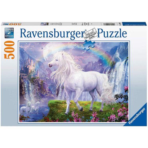 Ravensburger 500 db-os puzzle - Unikornisok a szivárvány alatt 15007