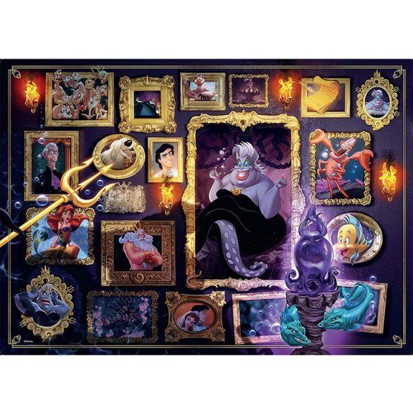 Ravensburger 1000 db-os puzzle - A Disney Gonoszai - Ursula 15027