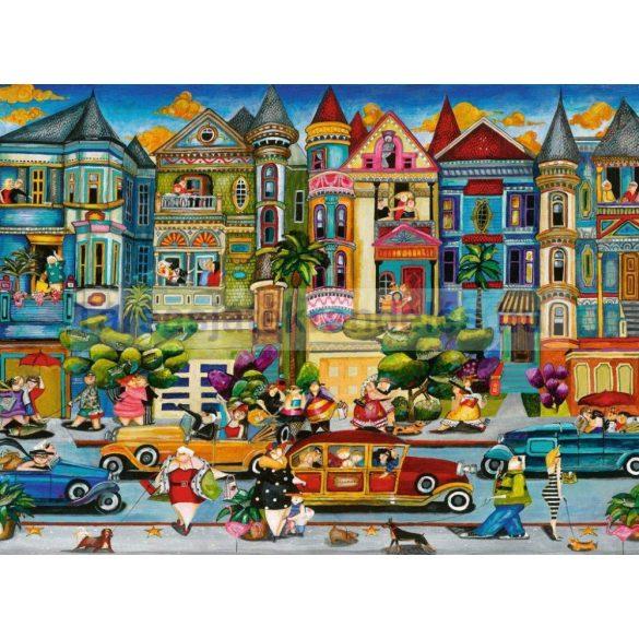 Ravensburger 1500 db-os puzzle - Festett hölgyek 16261