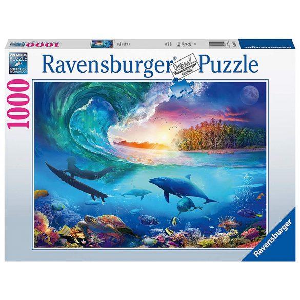 Ravensburger 1000 db-os puzzle - Lovagold meg a hullámot! 16451