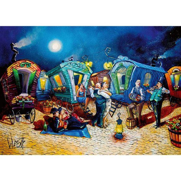 Ravensburger 1000 db-os puzzle - Az after party 16458