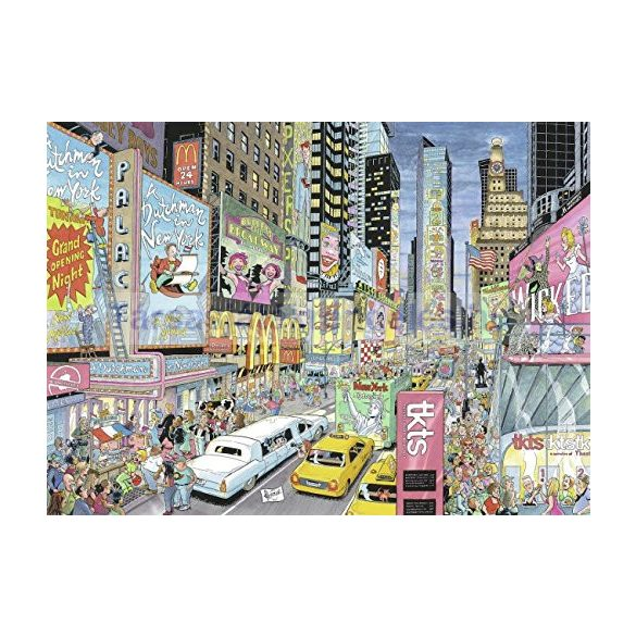 Ravensburger 1000 db-os puzzle - Cities of the World - New York 19787