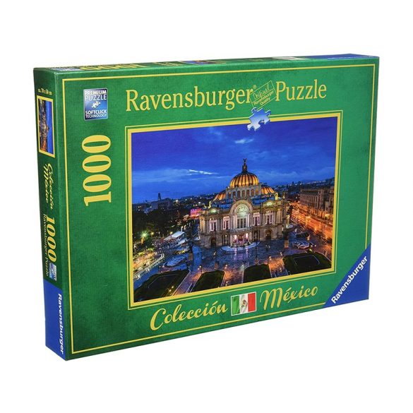 Ravensburger 1000 db-os puzzle - Colección México -  Palace of Fine Arts, Mexico 19842