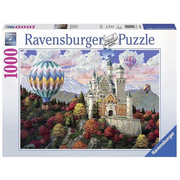 Ravensburger 1000 db-os puzzle - Fantázia Neuschwanstein kastély 19857