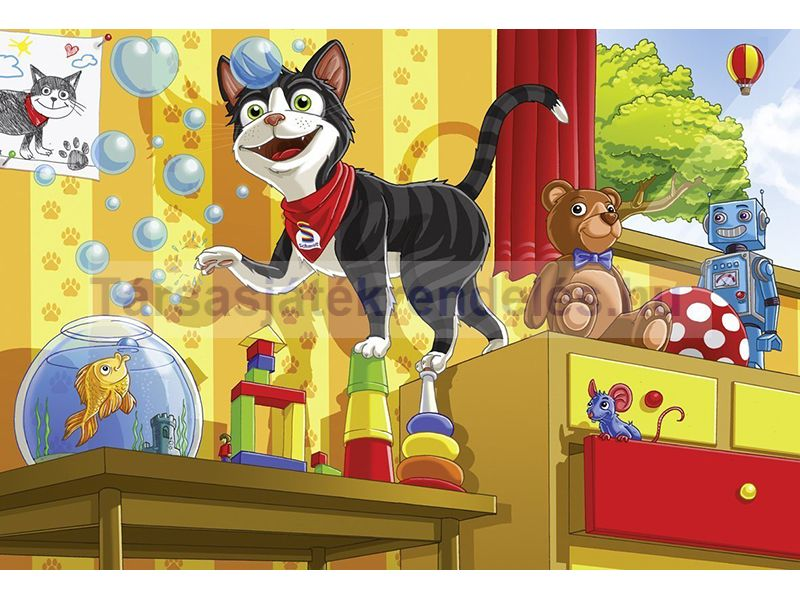 Puzzle 60 db-os - Schmidt cica - Schmidt