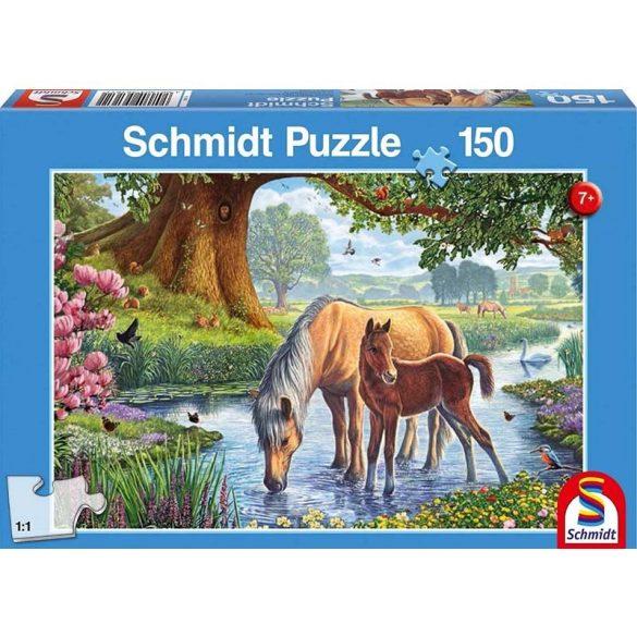 Puzzle 150 db-os - Pacik a pataknál - Schmidt 56161