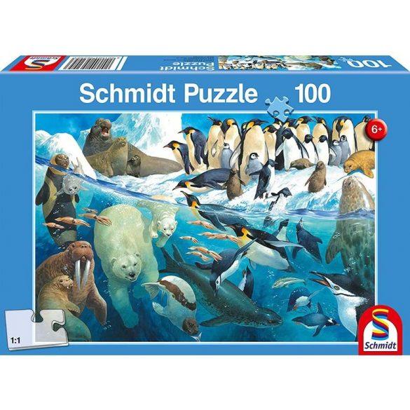 Puzzle 100 db-os - A jeges barátaim - Schmidt 56295